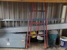 ullrich aluminium plank and 2 trestles Seaford Rise Morphett Vale Area Preview