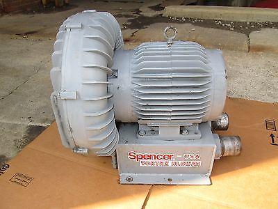 Spencer Vortex Regenerative Blower Vacuum Unipress