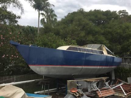 Adams 33ft Steel Yacht