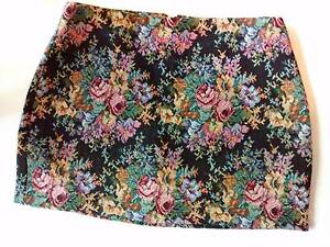 ALICE IN THE EVE from General Pants: Funky Floral Mini Skirt ~ 10 Woolloomooloo Inner Sydney Preview
