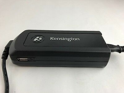 Kensington 90W AC/DC Notebook Power Adapter Model K33402 with USB port Kensington Power Port