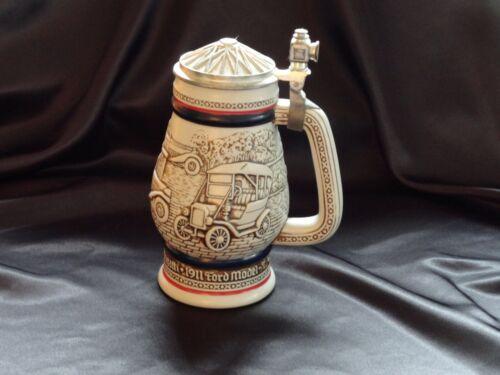 Vintage Automobile Brazilian Handcrafted Avon 1979 Beer Stein #622 ANTIQUE AUTOS