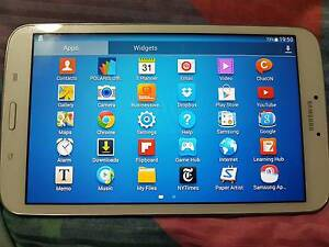 Hardly used Samsung galaxy Tab 3 8.0 Wellington Point Redland Area Preview