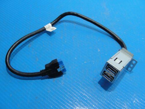 Dell Xps 8900 Genuine Desktop Front I/o Dual Usb Panel Board W/ Cable P9p90