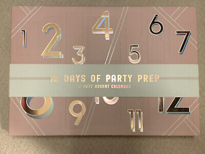 NEW Anthropologie Beauty 12 Days Party Prep Gift Set Holiday Advent Calendar