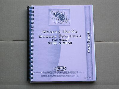 Jensales Parts Manual For Massey Ferguson Mf 50 Harris