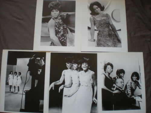 Florence Ballard-Lot of 5 Photos-The Supremes /Motown /The Supremes/Diana Ross
