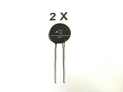 25x 1 Ohm 1 Watt WIREWOUND-POWER-resistenza 10/% 350 ° C