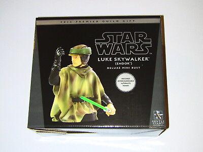 Gentle Giant Star Wars Luke Skywalker Endor Deluxe Mini Bust PGM NEW MIMB