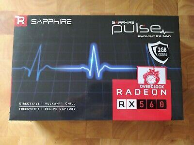 Sapphire Radeon Rx 560 2Gb OC GDDR5 HDMI/DVI/DP Gaming