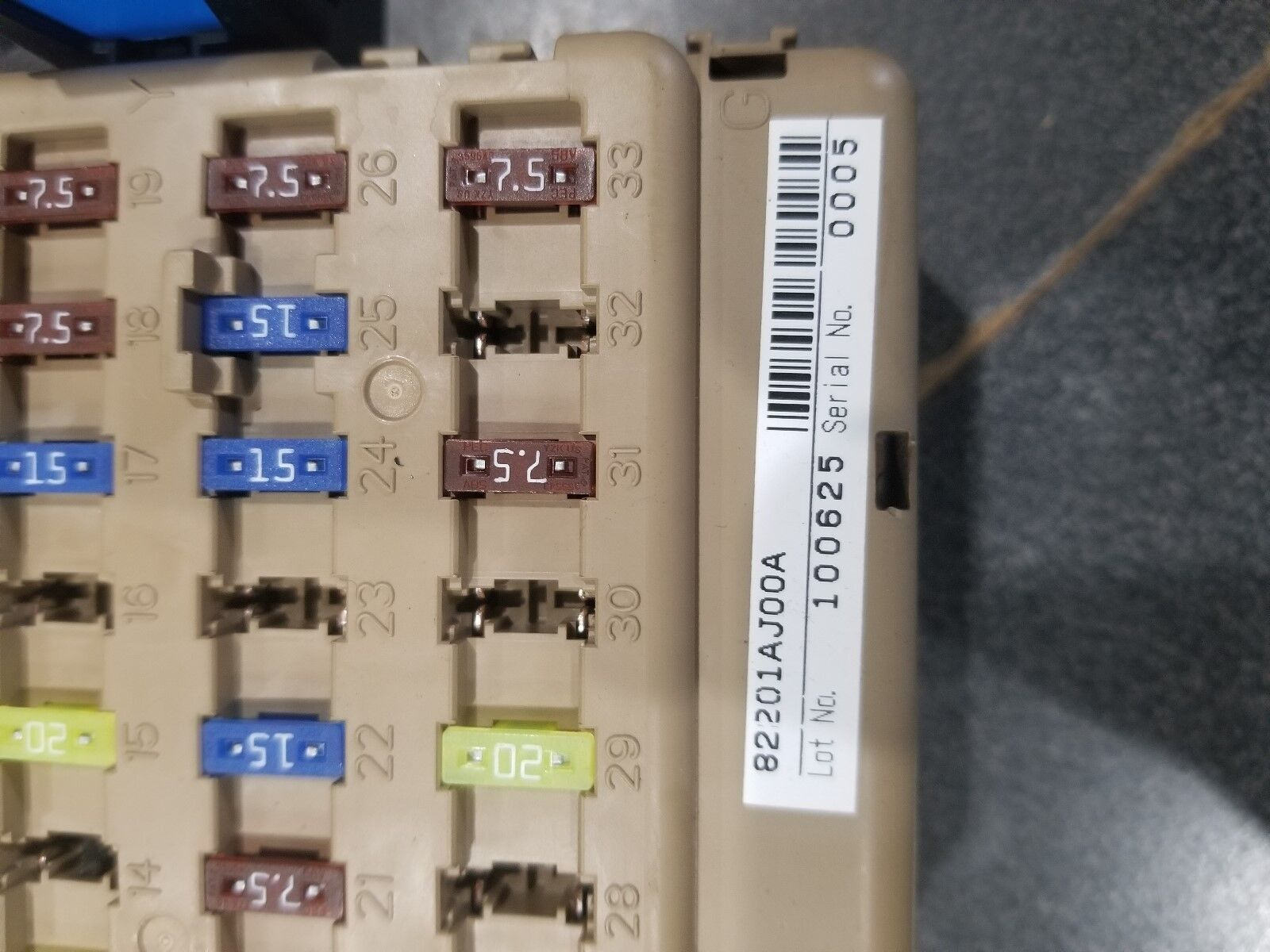 Used 2011 Subaru Outback Computers Chips Cruise Control And Fuses Related Parts For Sale