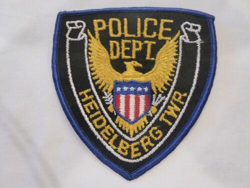 HEIDELBERG TWP., PENNSYLVANIA  POLICE UNIFORM EMBLEM PATCH, NEW UNUSED!