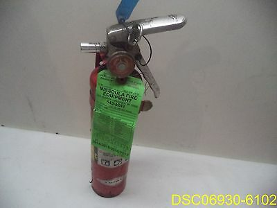 A417 Amerex 2.5lb Abc Dry Chemical Class A B C Fire Extinguisherw Mount Brack