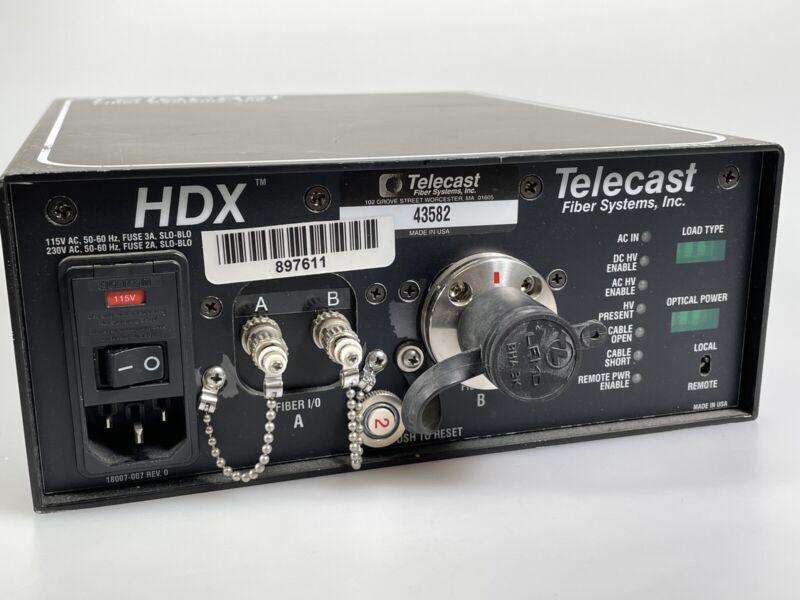 Telecast HDX SMPTE Box - Camera Chain Fiber Box