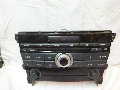 07 08 09 Mazda CX-7 CX7 BOSE Radio MP3 6 Cd Face Plate EG2466ARX JB20