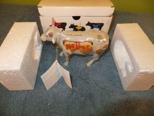 Cow Parade - 2000 Hot Dog - New in Box with Tag