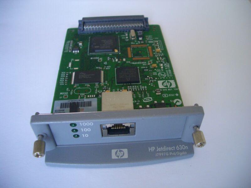HP JetDirect 630n EIO 10/100/1000TX Ethernet Print Server J7997g