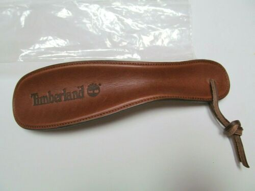 """Timberland leather boot horn 8"""" Rawhide tie NEW in  plastic sleeve Free shipping"""