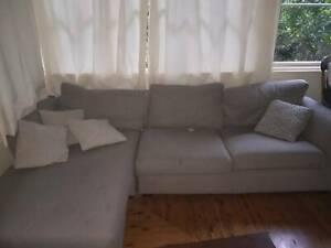 Corner Couch sofa lounge beige