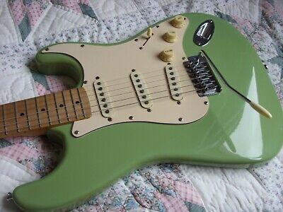 Vintage Stratocaster Electric Guitar Rockwood Rare Colour