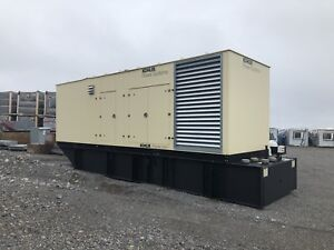 1000kW Generator and ATS