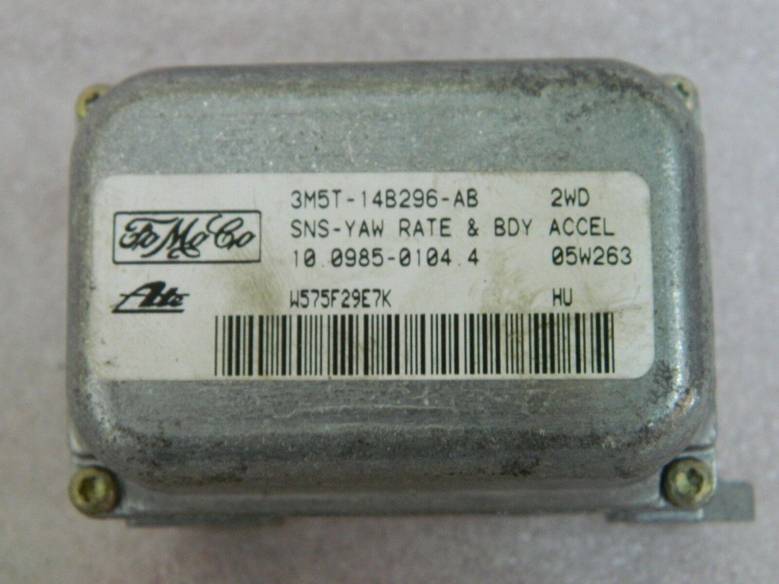 VOLVO C30 S40 V50 ESP YAW RATE SENSOR 3M5T-14B296-AB