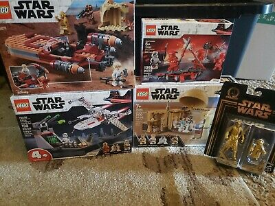 Star wars lego lot 75271,75225,75270,75235