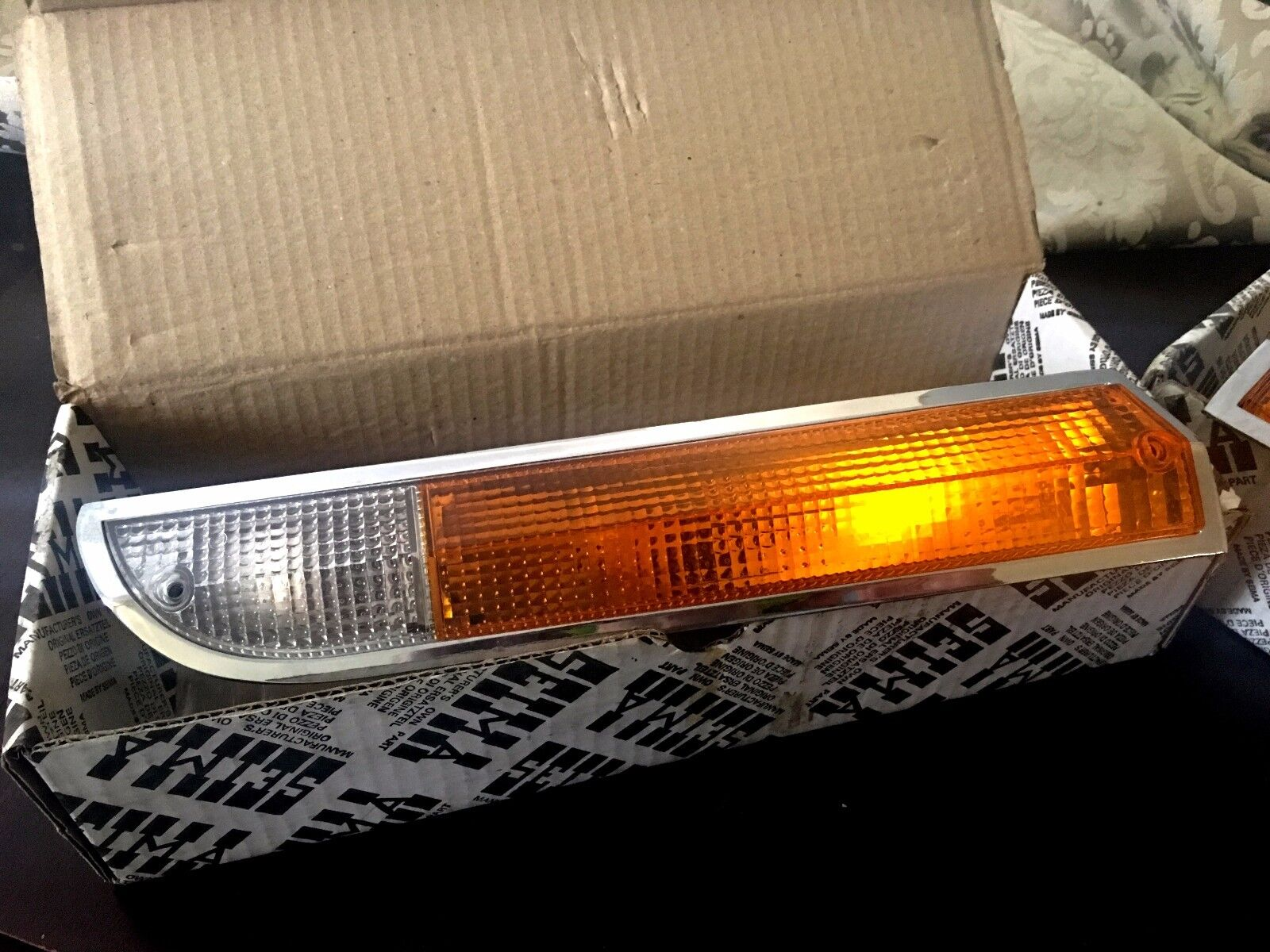 Peugeot 504 Blinker complete Right NOS SEIMA 426D w/original box