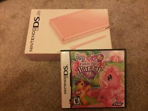 Pink Nintendo DS With My Little Pony Game