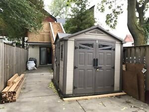 SHED 8ft x 9ft plastic/resin shed $500 OBO