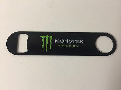 Monster Energy Drink Bottle Opener speed Wrench Style Full Graphics ~ NEW In Bag