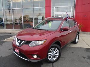 2014 NISSAN ROGUE SV AWD FAMILY TECH PKG NAVI 360 CAMERA PANA RO