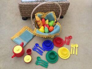 Child's Picnic Basket Set