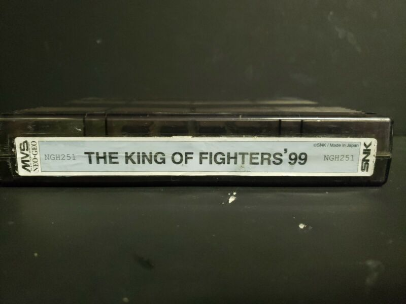 The King of Fighters 99 SNK NEO GEO MVS Arcade Cartridge 1999 GENUINE TESTED