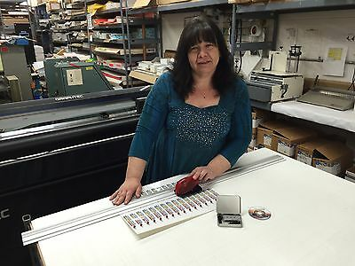New 52 Track Cutter For Paper Foam Board Coroplast Vinyl Laminate More