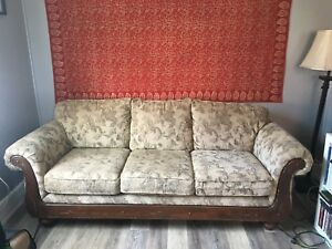 BARELY USED, PERFECT condition 3 seat couch for sale!! MUST GO.