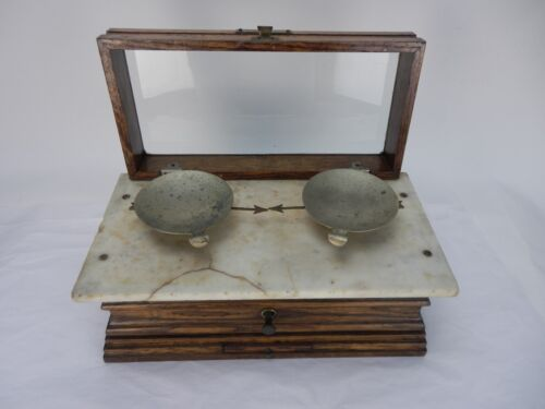 Vintage Henry Troemner Apothecary Scale