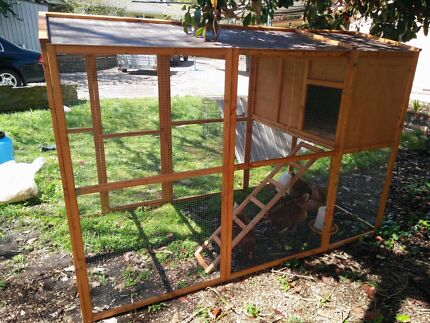Chicken coop and Hutches
