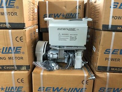 SEWLINE  SLS-1000  ENERGY SAVING SERVO 110 VOLT MOTOR  INDUSTRIAL SEWING MACHINE