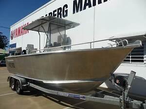 2012 Heavy Duty Plate Boats 5.9m Centre Console With DF140 Suzuki Bundaberg South Bundaberg City Preview