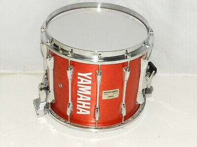 """Yamaha 12 x 14"""" Field Corps. Marching Snare Drum Red Forest Stain"""