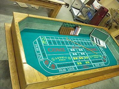 8 Foot Deluxe Craps Dice Table Las Vegas Casino