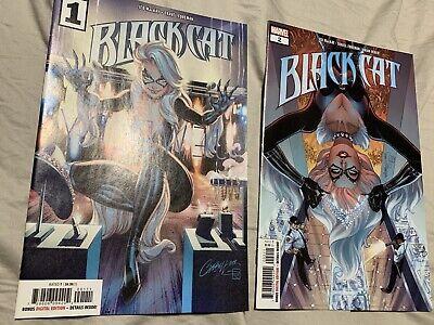 Black Cat #1 & #2 Comics New Series Marvel Cover A