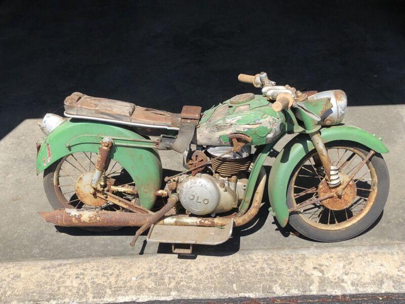 Vintage 1950's Carnival Amusement Ride Motorcycle JLO Motor Original Kiddie Ride