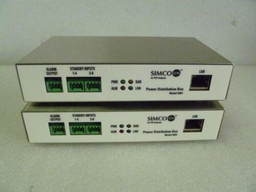 LOT OF 2 SIMCO ION POWER DISTRIBUTION BOX MODEL 5601