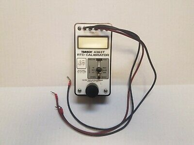 Transcataltek 4363t 211 Rtd Calibrator In Good Used Condition W Bag