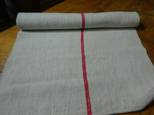 A Homespun Linen Hemp/Flax Yardage  3 Yards x 23