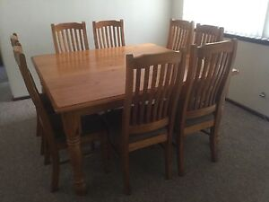 Dining table and chairs Bateman Melville Area Preview
