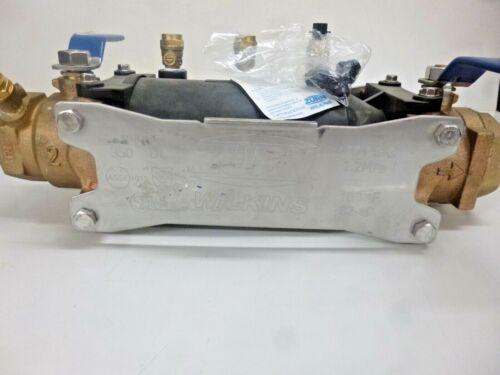 NEW!! ZURN Backflow Preventer, Bronze, Wilkins 350 Series, MNPT, 2 350