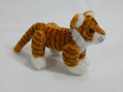 "World Of Miniature Bears Dollhouse Miniature 2"" Tiger #678"